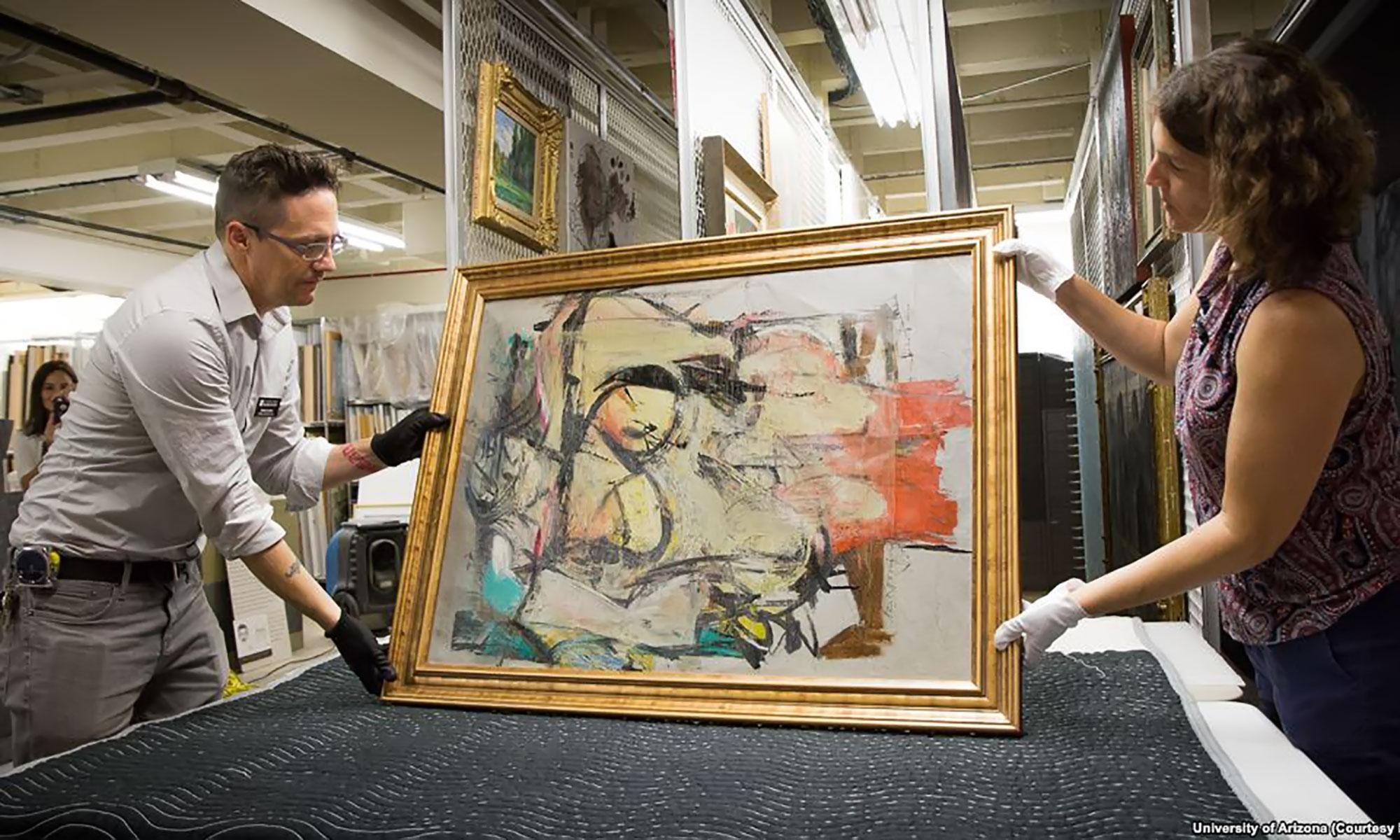 Lukisan Curian Seharga Rp 2 Triliun Ditemukan Di Balik Pintu Kamar