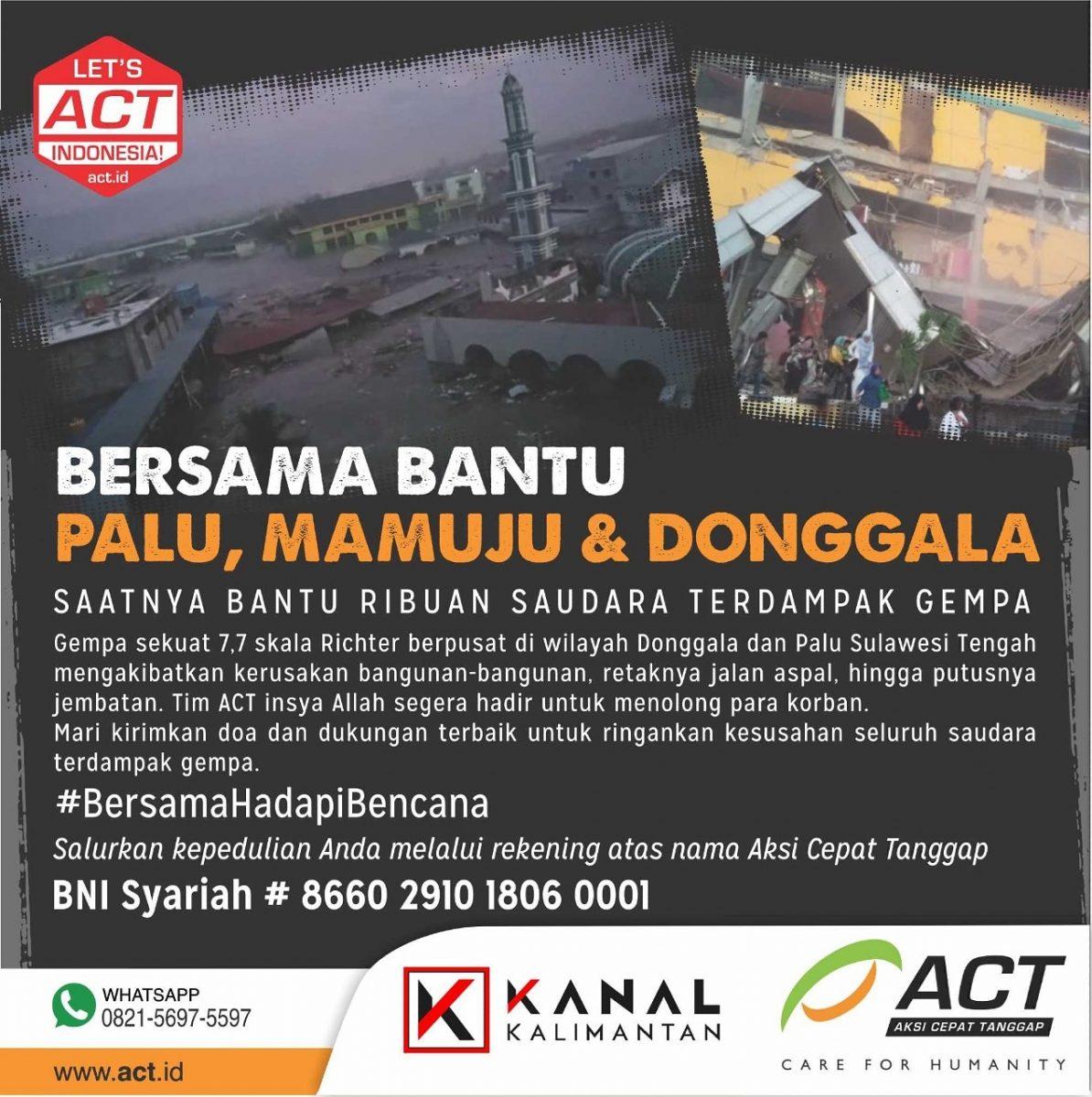 ACT Palu – Kanal Kalimantan